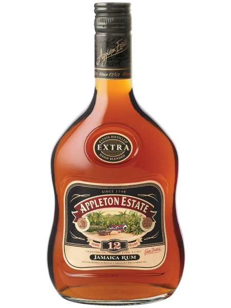 Appleton Estate Extra 43% vol. Original Jamaika Rum 12 Jahre 0,7 l