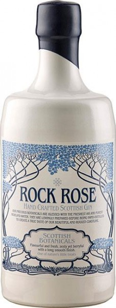 Rock Rose Gin 41,5% vol. Premium Scottish Gin 0,7l