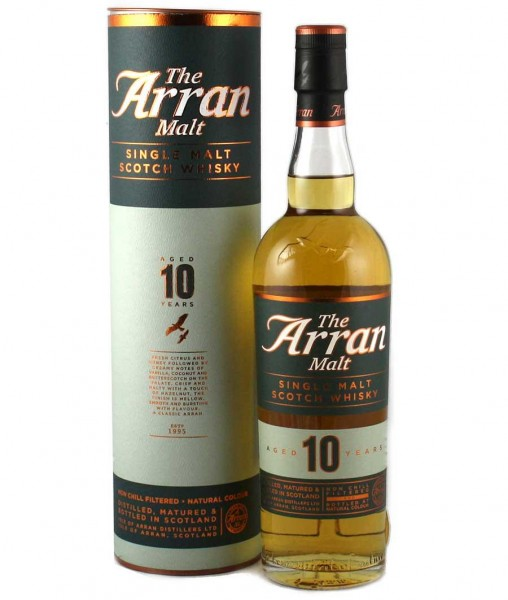 The Arran 10 Jahre 46% vol.0,7 l Island Single Malt