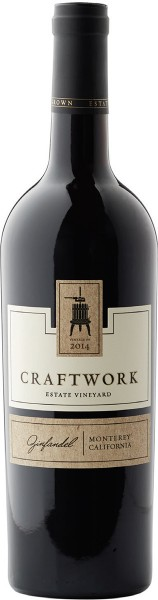 Scheid Family Wines Craftwork Zinfandel Kalifornien 0,75l