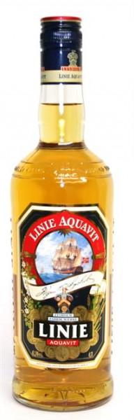 Linie Aquavit 41,5% vol Norwegische Spirituose 0,7 l