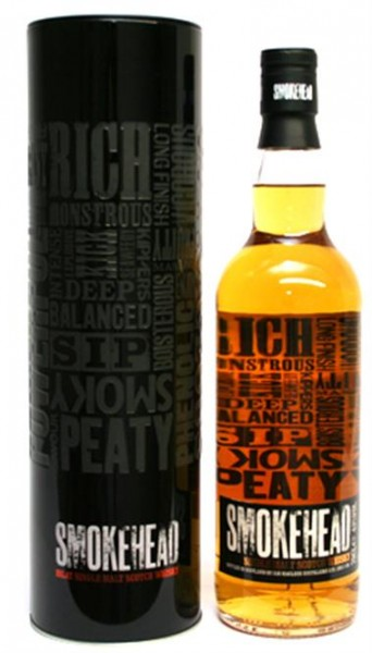Smokehead 43% vol. Scotch Islay Malt Whisky 0,7 l
