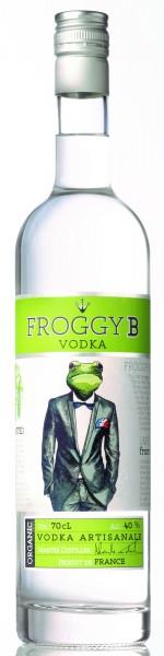Froggy B Vodka Artisana Frankreich 40% vol. 0,7l