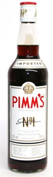 Pimm's The Original No.1, 25% vol. Englischer Szene-Aperitiv 0,7 l