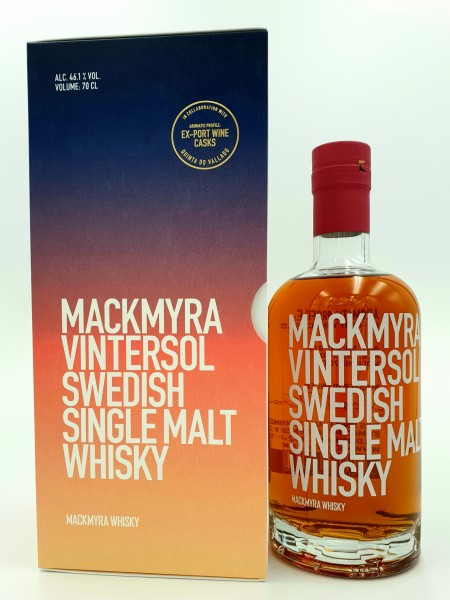 Mackmyra Vintersol Swedish Single Malt Whisky 46,1,0% vol. 0,7l