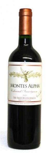 Montes Alpha Cabernet Sauvignon Barrique Premium Colchagua Chile 0,75 l