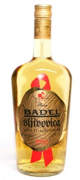 Badel Sljivovica 40% vol. Alter Pflaumenbrand 1,0 l