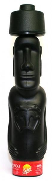 Pisco Capel Reservado Moai Brandy 40% vol. Skulpturflasche 0,7 l