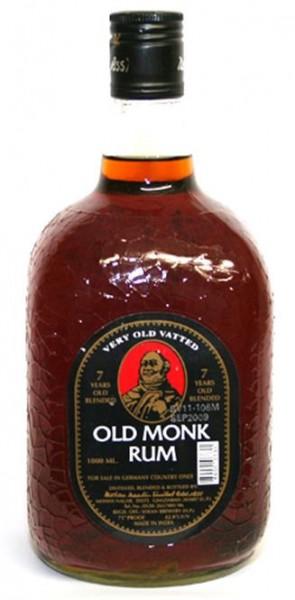 Old Monk 7 Jahre 42,8% vol. Indischer Rum 1,0 l