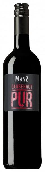 Manz Gänsehaut Pur Rotwein trocken Rheinhessen 0,75l