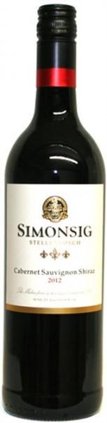Simonsig Cabernet Sauvigon Shiraz trocken Stellenbosch Südafrika 0,75 l