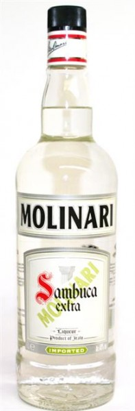 Sambuca Molinari extra 40% vol. Italienischer Anislikör 1,0 l