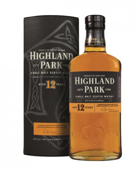 Highland Park Single Malt 12 Jahre Orkney Highland Malt 40% vol. 0,7 l