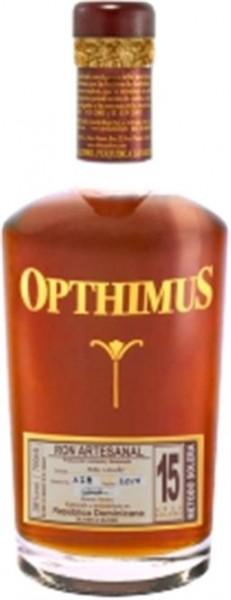 Opthimus 15 Jahre Res Laude 38% vol. Rum der Dominikanischen Republik 0,7 l