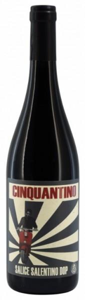 Cinquantino Rosso DOP Salice Salentino 0,75L