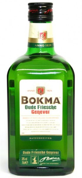 Oude Bokma Genever 38% vol. Original aus Holland 0,7 l