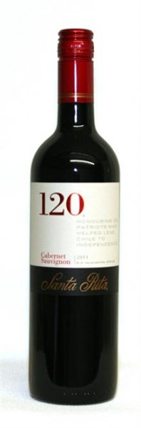 Santa Rita 120 Cabernet Sauvignon Central Valley Chile 0,75 l
