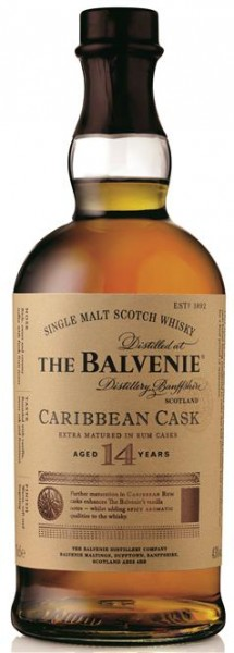 Balvenie 14 Jahre Caribbean Cask Scotch Single Malt 43% vol. 0,7l