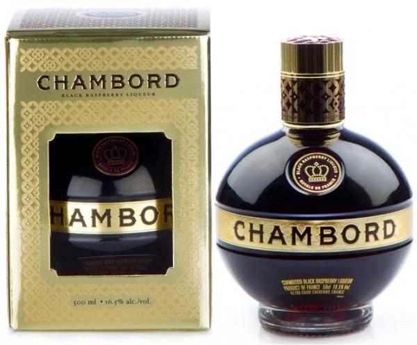 Chambord Liqueur 0,5 l, 16,5% vol France, Himbeer&Brombeer Spezialität