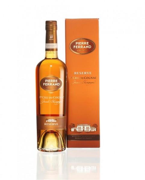 Cognac Pierre Ferrand Réserve Grande Champagne 40% vol. 20 J. 0,7 l