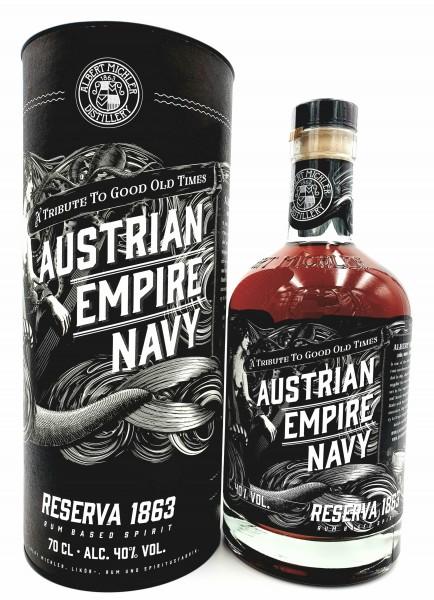 Austrian Empire Navy Rum Reserve 1863 40% vol. 0,7l