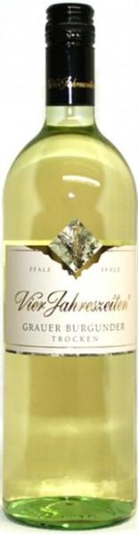 Grauer Burgunder trocken Vier Jahreszeiten Pfalz, 1,0 l