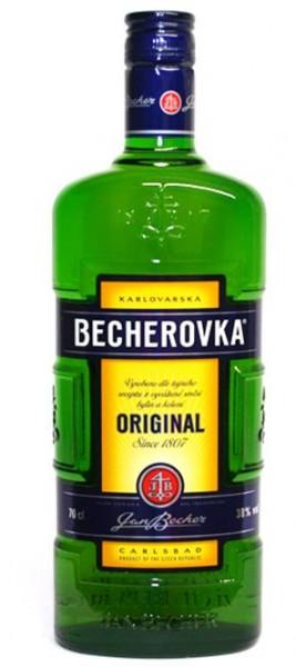 Karlsbader Becher 38% vol. Becherovka Käuter Spezialität, 0,7 l