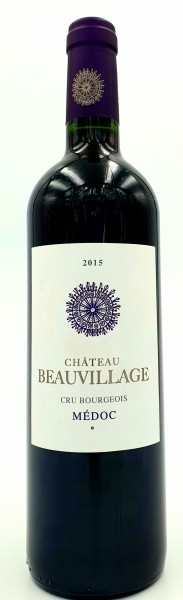 Chateau Beauvillage 2015 Cru Bourgeois Medoc, Frankreich 0,75 l