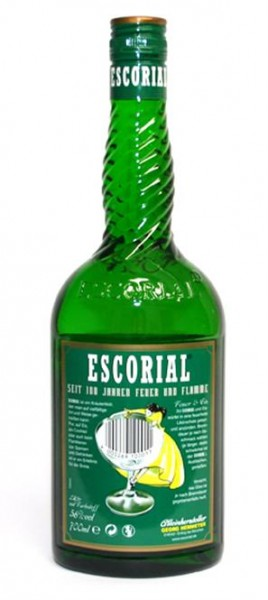 Escorial grün trocken 56% vol. Kräuter-und Wurzeldestillat 0,7 l