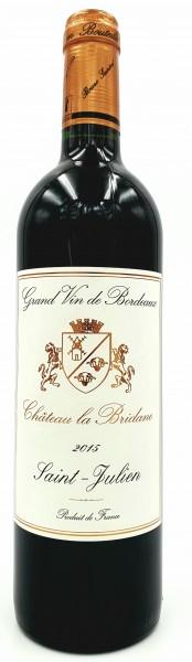 Chateau la Bridane 2015 AC Saint Julien Grand Vin de Bordeaux, Frankreich 0,75 l