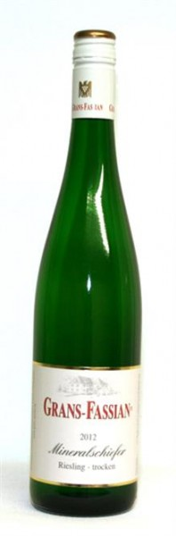 Riesling Mineralschiefer trocken Grans-Fassian Leiwen Mosel 0,75 l