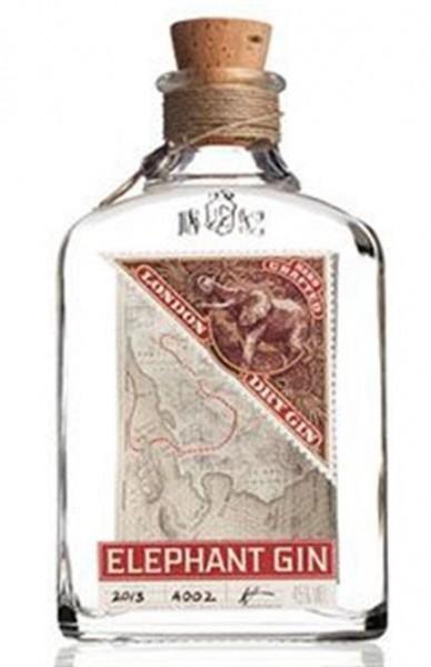Elephant Gin 45% vol. 0,5l Handgefertigter Premium-Gin