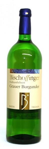 Grauer Burgunder QbA trocken WG Bischoffingen Kaiserstuhl 1,0 l