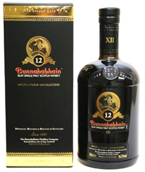 Bunnahabhain 12 Jahre 46,3% Vol. Islay Single Malt, 0,7 l