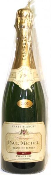 Champagner Paul Michel Sec Blanc de Blanc Premier Cru 0,75 l