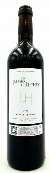 Les Haldes de Luchey 2015 AC Pessac-Léognan Grand Vin de Bordeaux, Frankreich 0,75 l