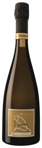 """Champagner Devaux La Cuvée """"D"""" Brut 0,75l"""