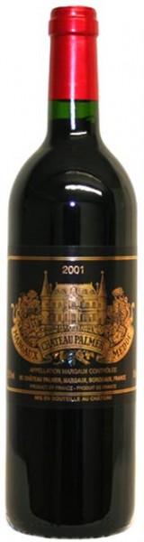 Chateau Palmer Margaux 2001er 3eme Grand Cru Classé Bordeaux 0,75 l