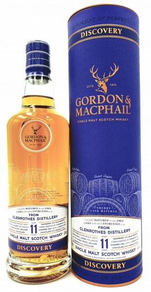 Glenrothes Discovery New Range 11 Jahre Gordon & MacPhail Single Malt Whisky 43% vol. 0,7l