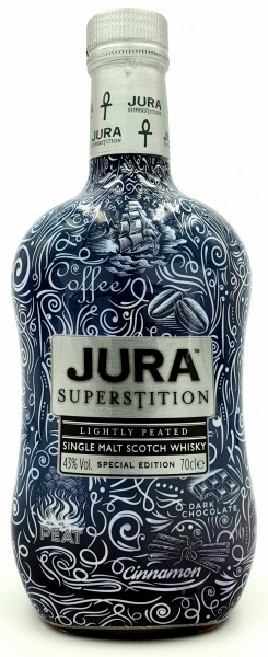 Isle of Jura Superstition Tatoo Edition Scotch Single Malt 43% vol. 0,7l
