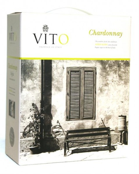 Chardonnay Vito IGT Apulien Bag in Box 3,0 l