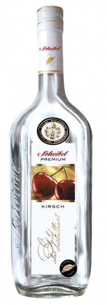 Scheibel Schwarzw.Kirschw.Premium 0,7 l 43% vol.3 J.gelagert.2-fach destilliert