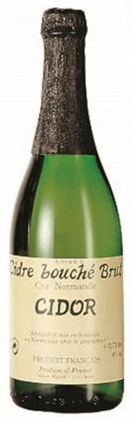 Cidor Cidre Bouché Brut 4% vol. Normandie 0,75 l