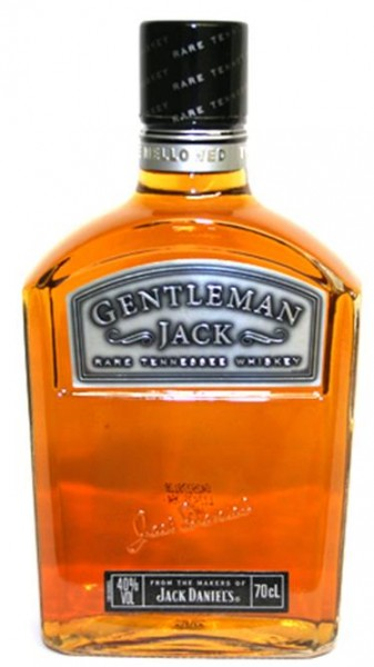 Jack Daniels Gentleman Jack Rare Tennessee Whiskey 40% vol. 0,7 l