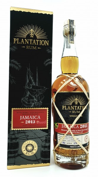Plantation Rum Jamaica 2013/2021 Duvel XO 42,9% vol. 0,7l