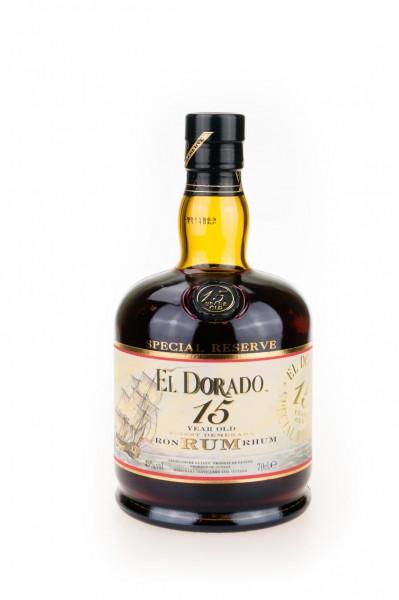 El Dorado 15 Y Special Reserve 43% vol. Rum aus Guyana 0,7 l