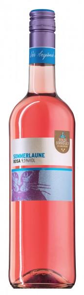 Sommerlaune Cuvee Rosa QbA fruchtig Winzer Sommerach 0,75 l