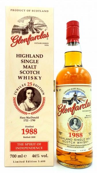 Glenfarclas 1988 Jubiläums Edition 46% vol. Single Highland Malt 0,7 l