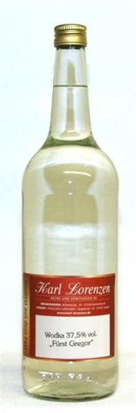 """Wodka """"Fürst Gregor 37,5% vol. deutsches Erzeugnis lose vom Fass"""