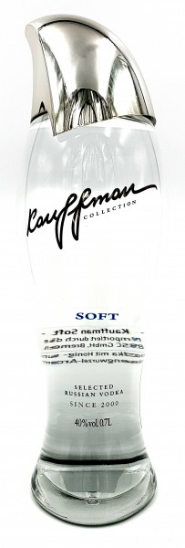 Kauffman Soft Selected Vodka aus Russland 40% vol. 0,7 l
